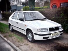We welcome to the family our Skoda Felicia, guide us safely to Mongolia please.