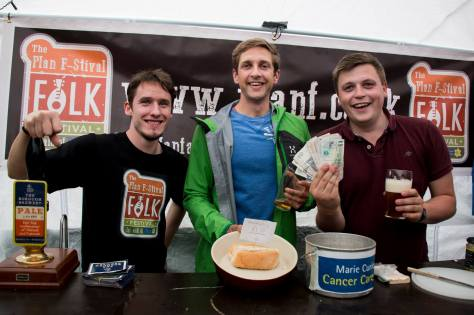 Plan F-Stival 2014 - We gained a man and raised £1000!