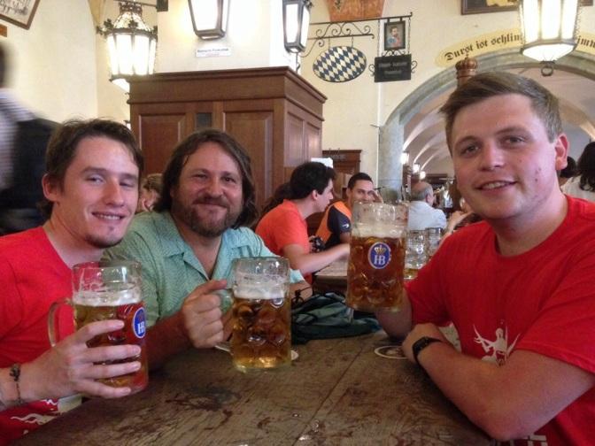 Day 1: London, UK – Munich, Germany
